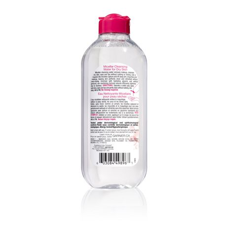 Garnier Skin ACTIVE Micellar Water for Dry Skin 400 ml - image 2 of 2