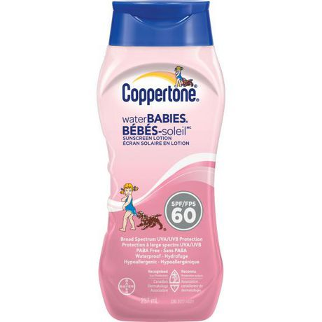 Coppertone Water Babies Sunscreen Lotion - SPF 60 - image 1 of 1