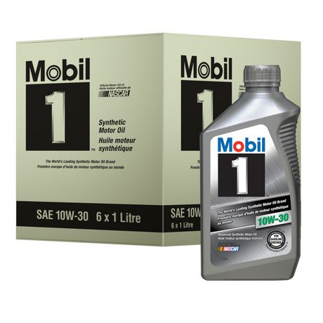 mobil 1 advanced synthetic motor oil 10w 30. Black Bedroom Furniture Sets. Home Design Ideas