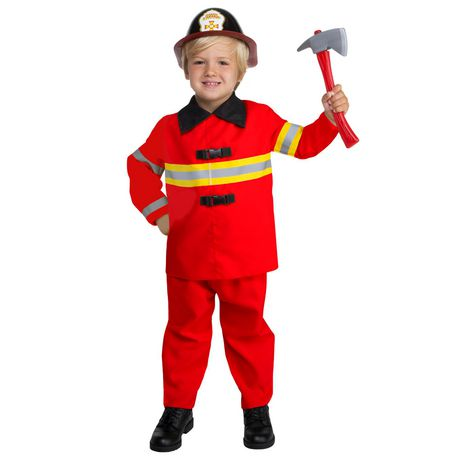 Toddlers' Firefighter Costume 3T-4T - image 1 of 3