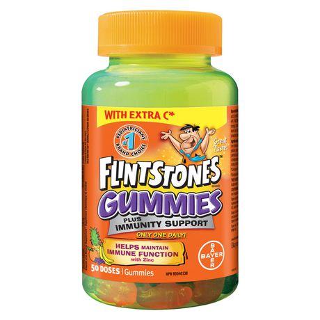 Flintstones plus Immunity Support Multivitamin Gummies - image 1 of 4