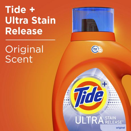 Tide Ultra Stain Release Original Scent High Efficiency Liquid Laundry Detergent - image 3 of 7