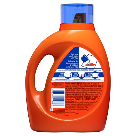 Tide High Efficiency Turbo Clean Breeze Scent Liquid Laundry Detergent - image 2 of 7
