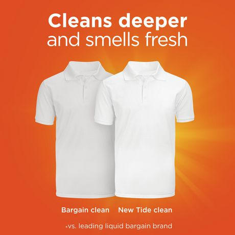 Tide High Efficiency Turbo Clean Breeze Scent Liquid Laundry Detergent - image 3 of 7