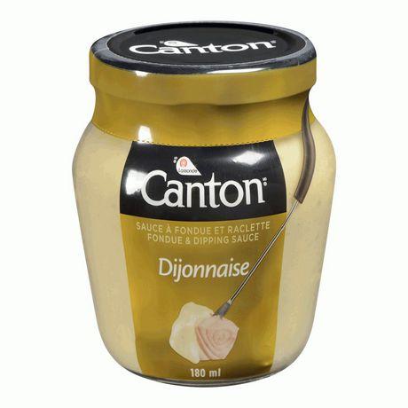 Canton Dijonnaise Fondue and Dipping Sauce, 180mL - image 1 of 3