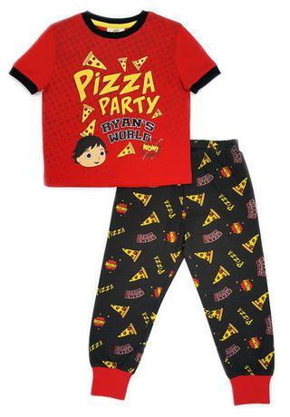 a23012b47d78 Ryan s World Boys  Toddler 2-Piece Short Sleeve Pajama Set