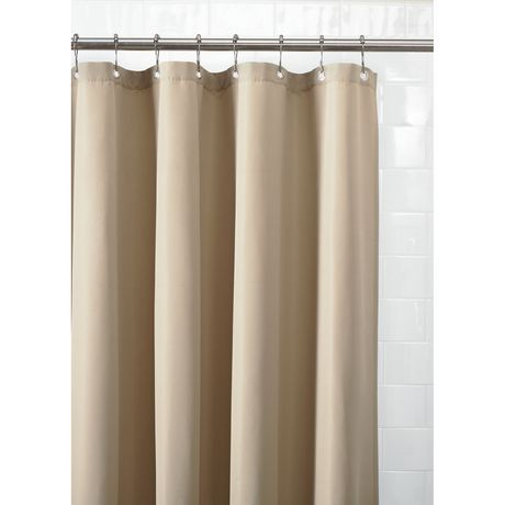 doublure de rideau de douche en tissu imperm able de mainstays