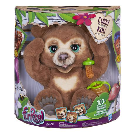 Furreal Friends Furreal Cubby, The Curious Bear Interactive Plush Toy, Ages 4 And Up