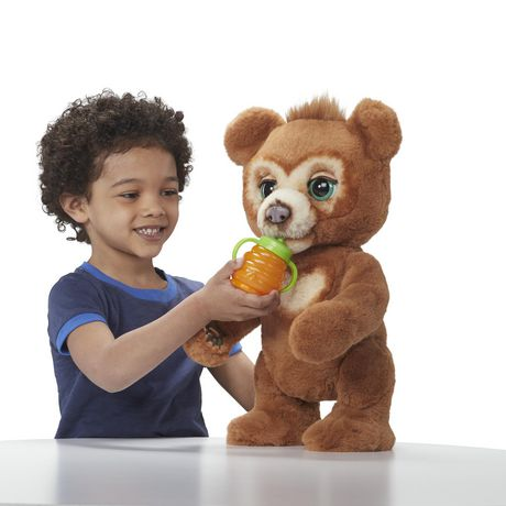 furReal Cubby, the Curious Bear Interactive Plush Toy, Ages 4 and Up - image 6 of 8