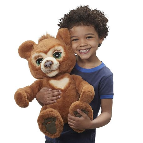 furReal Cubby, the Curious Bear Interactive Plush Toy, Ages 4 and Up - image 4 of 8