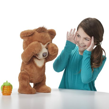 furReal Cubby, the Curious Bear Interactive Plush Toy, Ages 4 and Up - image 5 of 8