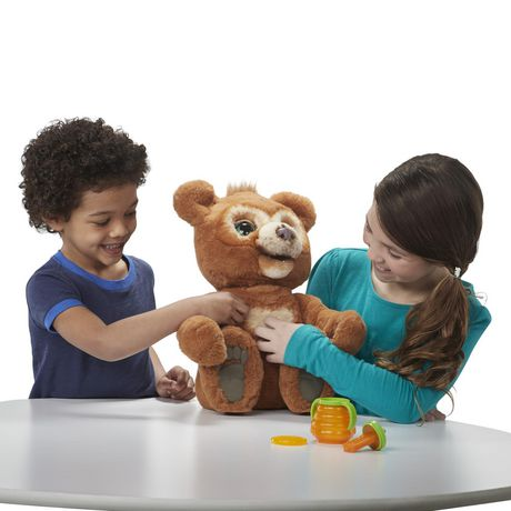 furReal Cubby, the Curious Bear Interactive Plush Toy, Ages 4 and Up - image 3 of 8