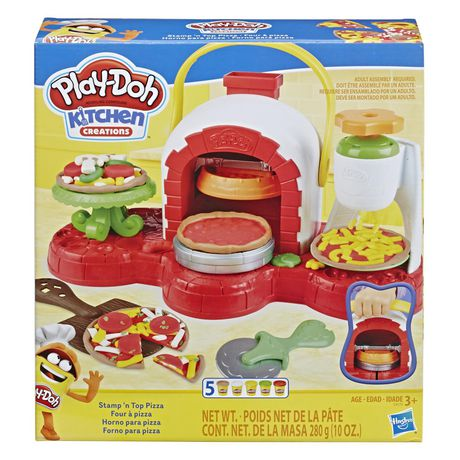 Play-Doh Stamp 'n Top Pizza Oven Toy - image 1 of 2