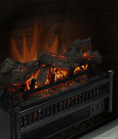 Pleasant Hearth 20 Inches Electric Crackling Fireplace Log