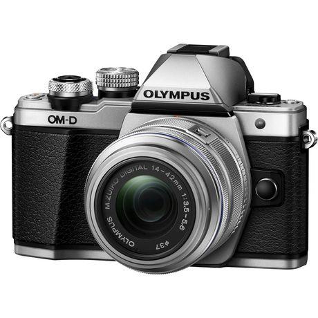 Appareil photo numérique sans miroir OM-D E-M10 Mark II d'Olympus de 16 MP en argent - image 1 de 6