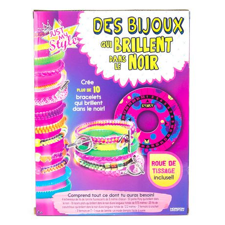 just my style glow in the dark jewelry kit