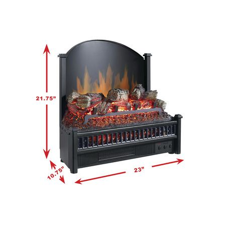 Pleasant Hearth Electric Insert With Heater Electric Log Walmart Canada