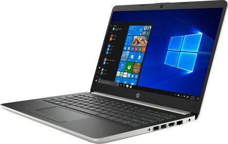 "HP Notebook 14-CF1001CA 14.0"" HD Non-Touch, Intel Core i3-8145U, 4GB RAM, 128GB SSD, Intel UHD Graphics 620, Windows 10 Home - image 2 of 7"