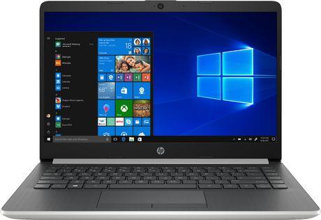 "HP Notebook 14-CF1001CA 14.0"" HD Non-Touch, Intel Core i3-8145U, 4GB RAM, 128GB SSD, Intel UHD Graphics 620, Windows 10 Home - image 1 of 7"