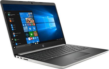 "HP Notebook 14-CF1001CA 14.0"" HD Non-Touch, Intel Core i3-8145U, 4GB RAM, 128GB SSD, Intel UHD Graphics 620, Windows 10 Home - image 3 of 7"