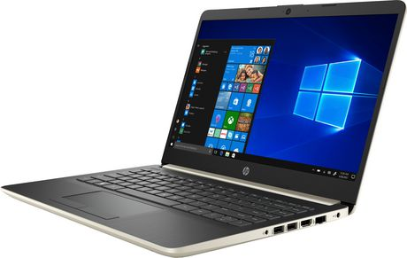 "HP Notebook 14-DK0020CA 14.0"" HD Non-Touch, AMD A4-9125, 4GB RAM, 64GB eMMC, 1TB OneDrive, AMD Radeon R3, Windows 10 Home - image 2 of 6"