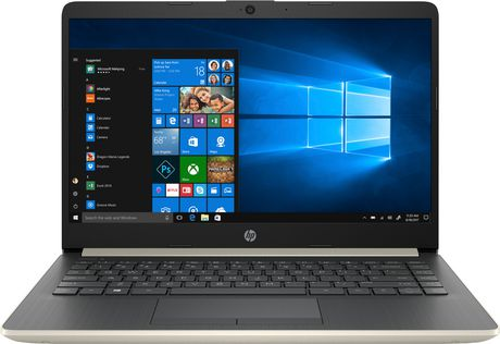 "HP Notebook 14-DK0020CA 14.0"" HD Non-Touch, AMD A4-9125, 4GB RAM, 64GB eMMC, 1TB OneDrive, AMD Radeon R3, Windows 10 Home - image 1 of 6"