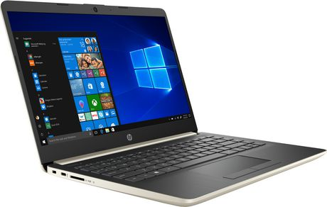 "HP Notebook 14-DK0020CA 14.0"" HD Non-Touch, AMD A4-9125, 4GB RAM, 64GB eMMC, 1TB OneDrive, AMD Radeon R3, Windows 10 Home - image 3 of 6"