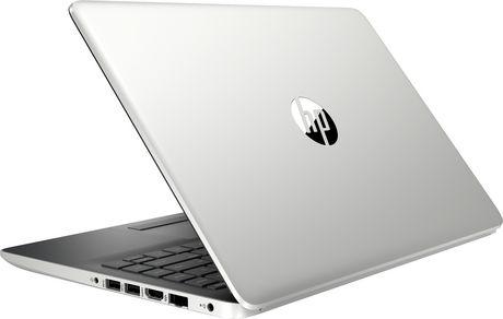 "HP Notebook 14-CF1001CA 14.0"" HD Non-Touch, Intel Core i3-8145U, 4GB RAM, 128GB SSD, Intel UHD Graphics 620, Windows 10 Home - image 5 of 7"