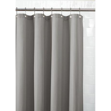 Doublure de rideau de douche en tissu imperméable de Mainstays - image 2 de 3