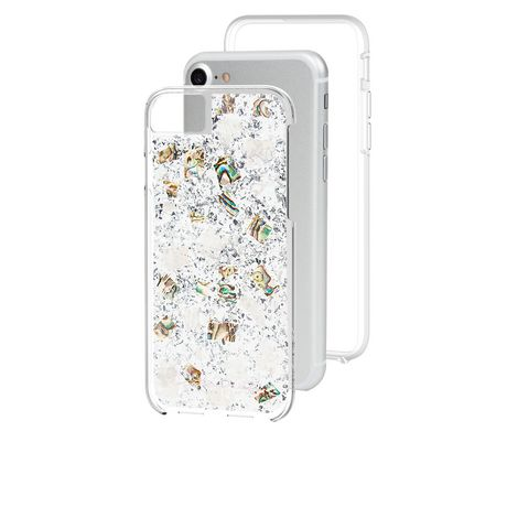 outlet store 5794a 26586 Case-Mate Karat Case for iPhone 6s/7/8 in Mother of Pearl