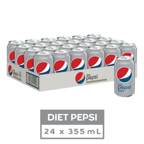Diet Pepsi, 355mL Cans, 24 Pack - image 1 of 7