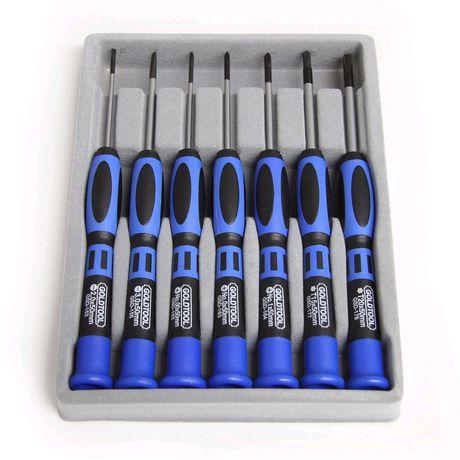 Kit à outils à tournevis de précision 7 pièces - image 1 de 1