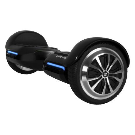 Swagtron T580 Bluetooth Hoverboard Black Walmart Canada