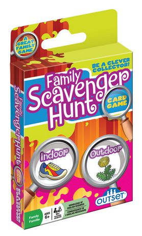 Outset Media Family Scavenger Hunt Card GAME (english) - image 1 of 1
