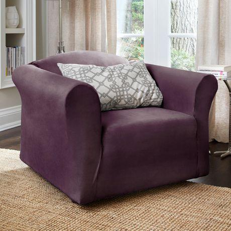 Housse extensible pour fauteuil harlow de surefitmc for Housse extensible pour fauteuil