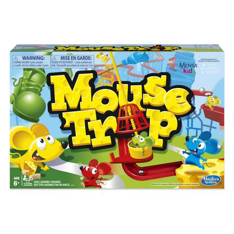 Mouse Trap Family Board Game - image 1 of 7