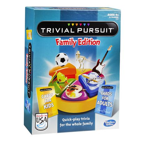 trivial pursuit family edition. Black Bedroom Furniture Sets. Home Design Ideas