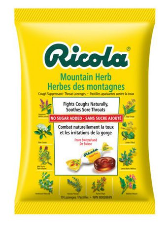 Ricola Mountain Herb Cough Suppressant Throat Drops - image 1 of 6