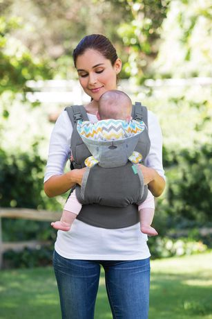 6eba7f2e0d5 Infantino Llc Infantino Cuddle up Ergonomic Hoodie Baby Carrier - image 5  of 5 ...