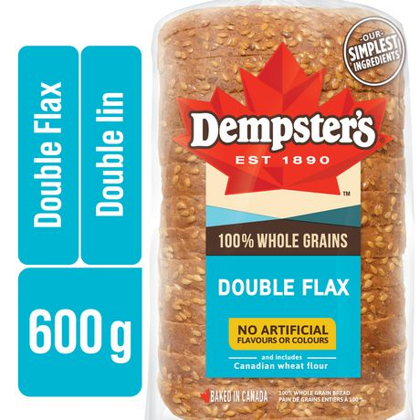 Dempster's® 100% Whole Grains Double Flax Bread - image 1 of 8