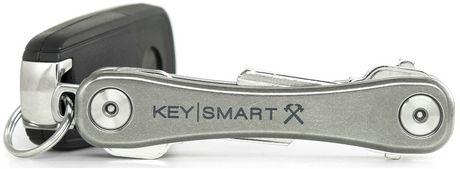 KeySmart Rugged Aluminum Key Holder - Titanium - image 1 of 2
