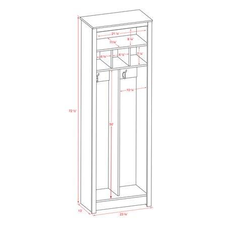 Meuble de rangement compact pour vestibule - Meuble de vestibule ...