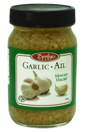 Where to find minced garlic in grocery store