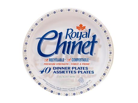 Royal Chinet Dinner Plates  sc 1 st  Walmart Canada : chinet oval paper plates - pezcame.com