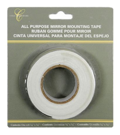 Mainstays Mirror Mounting Tape, Best Mirror Hanging Tape