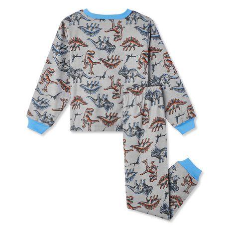 George Boys' 2-Piece Flannel PJ Set - image 2 of 2