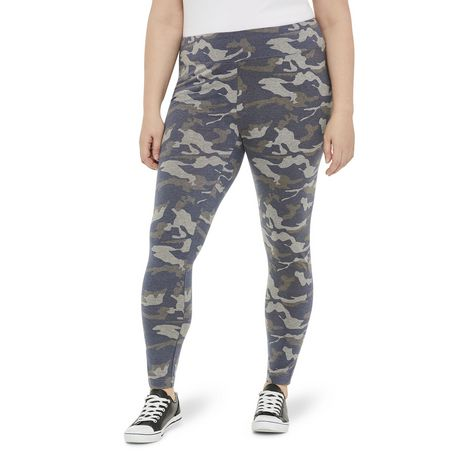George Plus Women's Fitted Leggings - image 1 of 6