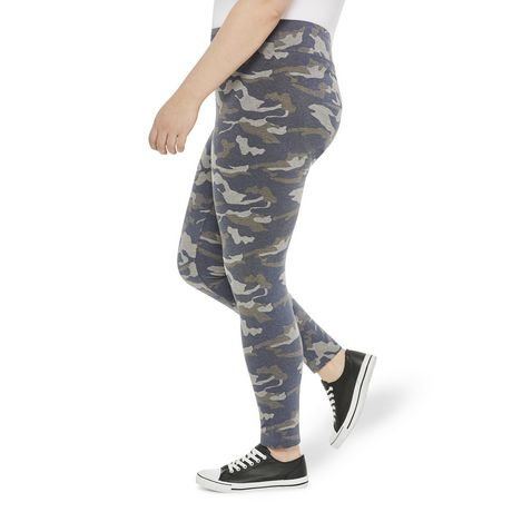 George Plus Women's Fitted Leggings - image 2 of 6