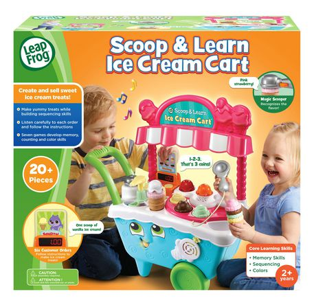 LeapFrog® Scoop & Learn Ice Cream Cart™ - English Version - image 4 of 8