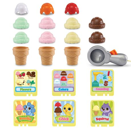 LeapFrog® Scoop & Learn Ice Cream Cart™ - English Version - image 5 of 8